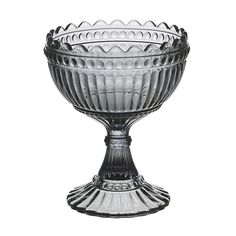 The color grey is considered the new neutral for the contemporary home, and this pressed glass piece forever captures its allure. Iittala Grey Maribowl - $40