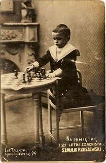 Jose Raul Capablanca.  In chess, the younger the better.