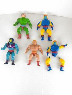 Toys & Games Sincere 10 X He-man Motu Figurine Leg-repair Bands
