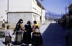 Albanian women in Titograd 1953 (Joel Martin Halpern)