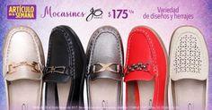 Las tiendas Suburbia en esta ocasión tienen para ti como Artículo de la semana los Mocasines Go Shoes para dama a $175 cada uno del 20 al 26 de febrero.