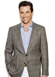 Jon Hamm... Oh my... He plays such a great jerk...