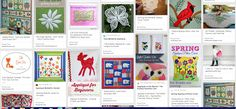 The Best Free Crafts Articles: Applique Tutorials, Video's, Patterns and How-To's Pinterest opard