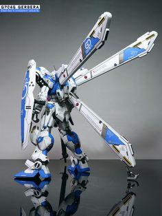 Gundam Gerbera - Customized Build Modeled by do-yu Anime Couples Manga, Cute Anime Couples, Anime Girls, Rosario Vampire Anime, Gundam Mobile Suit, Frame Arms Girl, Gundam Art, Custom Gundam, Robot Art