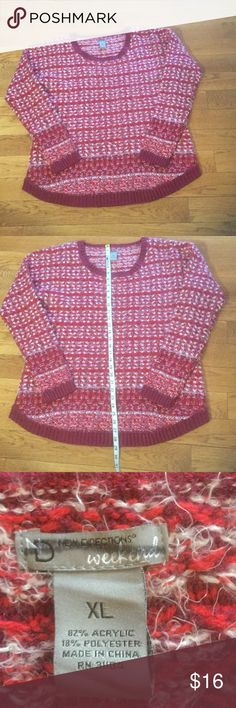 New Directions Sweater Newer worn size XL Sweater. From smoke free home make me an offer new directions Sweaters