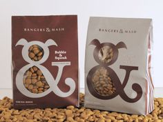 Bangers & Mash (Student Work) on Packaging of the World - Creative Package Design Gallery