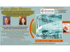 Life After Divorce: Child-Centered Divorce Network with Rosalind Sedacca 01/17 by cl3agency | Family Podcasts