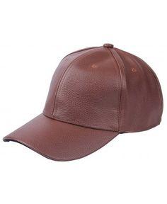 Men Women Leather Adjustable Baseball Sport Cap Coffee 9ebe798246be