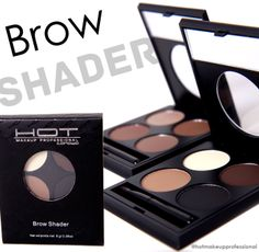 HOT MAKEUP PROFESSIONAL BROW SHADER!! #makeup #brow #shadow #hotmakeup