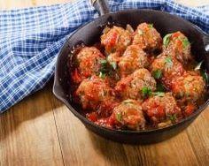 Boulettes de boeuf à la sauce tomate Ingrédients