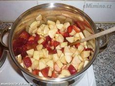 Ovocná přesnídávka recept - eMimino.cz Fruit Salad, Pickles, Oatmeal, Smoothie, Food And Drink, Homemade, Canning, Breakfast, Health