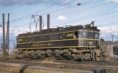 These big, box cab electrics propelled heavy-traction technology into the modern era. A 1931 product of General Electric, the locomotives co...