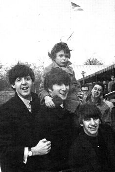 Little Debbie Fyall joined the Beatles in Central Park on February 8, 1964.