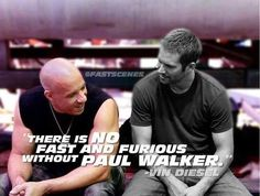 this statement is sooooo true, i guess that is why there is no such thing as being fast anymore! Fast And Furious Actors, Fast Furious 1, Paul Walker Quotes, Paul Walker Pictures, Paul Walker Tribute, Rip Paul Walker, Film Books, Book Tv, Vin Diesel Quotes
