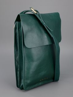 Marc by Marc Jacobs green leather satchel and backup. Made for a man but looks unisex Sac Marc Jacobs, Leather Satchel, Leather Backpack, Leather Bags, My Bags, Purses And Bags, Moda Hippie, Sacs Design, Designer Shoulder Bags