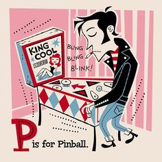 P is for Pinball-Derek Yaniger