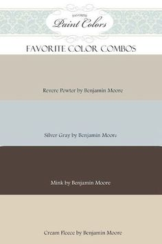 Color Palette With Revere Pewter | revere pewter color combo / For the home - Juxtapost