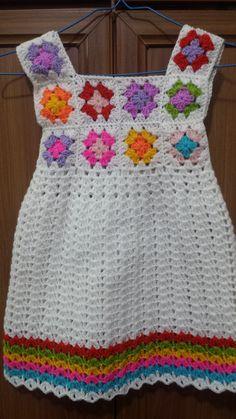 New ideas crochet baby girl jacket granny squares Baby Girl Crochet, Crochet Baby Clothes, Crochet For Kids, Knit Crochet, Crochet Hats, Baby Patterns, Knitting Patterns, Crochet Patterns, Crochet Ideas