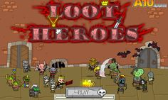 En este juego al estilo medieval, donde tienes que seleccionar a tu guerrero