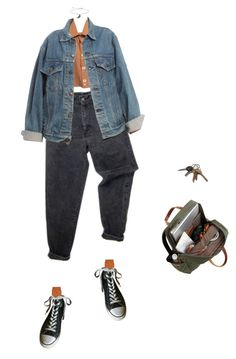 """I Spy..."" by jaxdm ❤ liked on Polyvore featuring Levi's, Maria La Rosa, Converse and Topshop"
