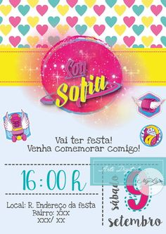 Convite Digital - Sou Luna