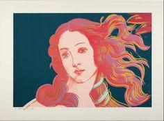 Birth of Venus by Andy Warhol
