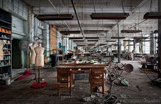 abandoned factories in america | Location: Abandoned Clothing Mill, PA (2 hrs. north of Philly ...