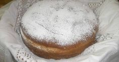 I have never seen this church celebratory bread with powdered sugar. This is an interesting recipe. Caramel Apple Cupcakes, Caramel Apples, Vegetarian Recipes, Cooking Recipes, Chocolate Ganache, Greek Recipes, Sweet Bread, Cravings, Bakery