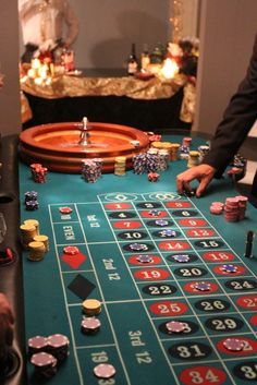 "Photo 17 of 23: Casino Night, Monte Carlo / Birthday ""John's 40th Birthday Party"" 