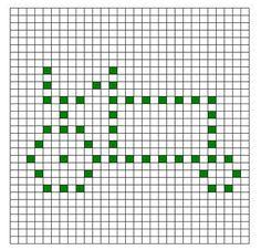 Ravelry: Tractor Bobble Chart by Kari Philpott