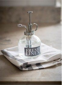 Keep on hand for those overly dry clothes to spray a gentle mist of water to help with the ironing.