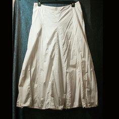 Godet/Gypsy style skirt w/frayed hem Godet/Gypsy style skirt w/frayed hem, a few stains Skirts A-Line or Full