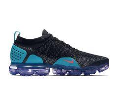 outlet store e084e d2fbf Officiel Nike Air VaporMax 2.0 Coussin Dair Moins Chaussures De Course  Femme Bleu noir 942842-