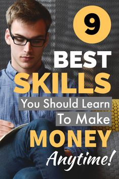Here are 9 important skills you should learn to make money online. Mastering anyone of them is a great way to earn money from home. Ways To Earn Money, Earn Money From Home, Earn Money Online, Online Jobs, Way To Make Money, Earning Money, Thing 1, Skills To Learn, Educational Websites