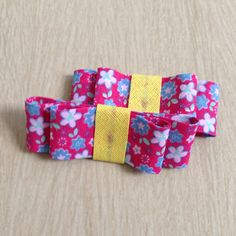 Bow for my daughter!! Hairclip
