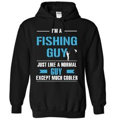 Fishing guy is cooler
