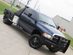 05-Ram-3500-SLT-5-9L-Cummins-H-O-diesel-4x4-Flat-Bed-6-x-NEW-injectors-Carfax-TX