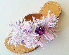 Brides & Bridesmaids Sandals.                 Choose your colours. We design exclusive for you @  www.etsy.com/shop/ChicSandals