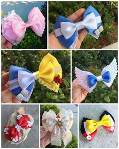 "3,361 Likes, 33 Comments - Corinne Andersson (@disneylifestylers) on Instagram: ""Wonderful Disney bows from @dreamloveandbows I need a Moana one! #disney #disneybows…"""