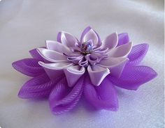 handmade flower project - several tutorials