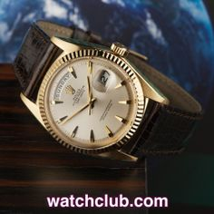 "Rolex Day-Date Vintage Yellow Gold - ""Beautiful Example"" REF: 1803 Rolex Watches For Men, Cool Watches, Men's Watches, Luxury Watches, Vintage Rolex, Vintage Watches, Best Looking Watches, Buy Rolex, Rolex Day Date"