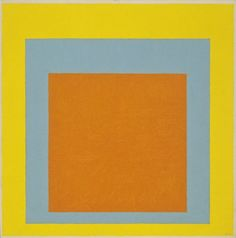 "Josef Albers, ""Homage to the Square: Confident"" (1954) 