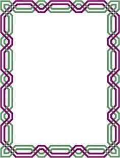 Undangan Pernikahan: Bingkai undangan dan clipart 17 Borders For Paper, Borders And Frames, Microsoft Word 2010, Microsoft Office, Certificate Border, Frame Border Design, Vision Art, Poster Background Design, Decorative Borders