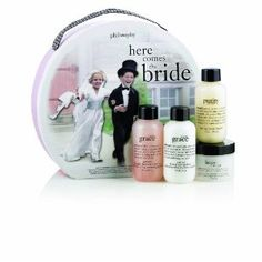 Here Comes The Bride Set by Philosophy-My mom got me this before I got married. Such a cute inexpensive gift for the Bride