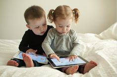 Does technology hold back learning process for toddlers?