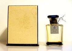 Vintage 1950s My Sin by Lanvin 1 oz Parfum Perfume Bottle & Presentation Box