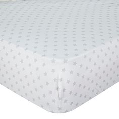 Exclusive Grey Stars Moses Fitted Sheet 2pk £5