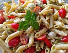 Pasta salad. Just take out tomatoes.