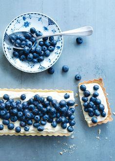 Diese typische skandinavische Blaubeer-Tarte müsst ihr ausprobieren!