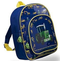 Tractor Ted Dark Blue Digger Rucksack ** Learn more by visiting the image link.